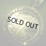 アメリカ ミレニアム2000年記念 イーグル シルバー999メダル ペンダント(チェーン有。無し-300円引き)