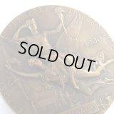 【美品】フランス アンティーク パリ 第2回オリンピック記念 1900年 メダル J.P.CHAPLAIN 作 63mm