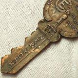 1917年 ニューヨーク 自由の女神 第28回 世界 クリスチャン エンデバー 会談 28TH INTERNATIONAL CHRISTIAN ENDEAVOR CONVERSATION アンティーク キーバッチ