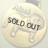 アメリカ ヴィンテージ ブルドックのメダル 36×36mm(チェーン有。無し-300円引き)