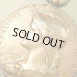 フランス アンティーク フランスを象徴する自由の女神 マリアンヌのメダル / オスカー・ロティ作