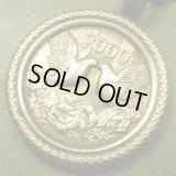 アメリカ ヴィンテージ ミレニアム2000年記念 シルバーメダル ペンダント(チェーン有。無し-300円引き)