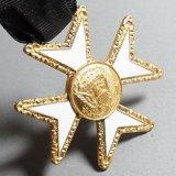 アメリカ ヴィンテージ フリーメイソン リボンクロスメダル