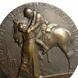 【バーゲン】【美品】フランス アンティーク メダル HENRY.DROPSY(ヘンリー・ドロプシー) 作 49mm