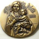 【バーゲン】【大型サイズ】【美形】ポルトガル 聖母マリア メダル JORGE COELHO作