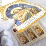 【難有り】【希少】ヴィンテージ 聖人切手(スタンプ)冊子(グループ82)