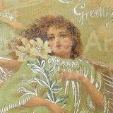 【1世紀前】《1900年代初頭》《ドイツ製他》アンティーク イースター・クリスマス カード(グループ270)