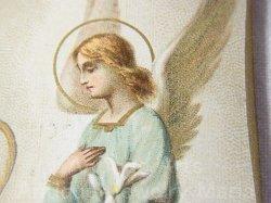 画像4: 【天使】《レギュラー〜大きめサイズ》フランス アンティーク ホーリーカード (グループ281)