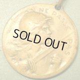 フランス 第一次世界大戦 ヴェルダンの戦い 記念メダル 1916年 27×27mm(チェーン有。無し-300円引き)