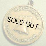 アメリカ WW2当時 ペンシルバニア陸軍 州兵軍メダル 32×36ミリ(チェーン有。無し-300円引き)