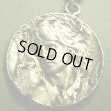 フランス アンティーク オルフェウス SOLIDシルバーメダル 25×25ミリ(チェーン有。無し-300円引き)